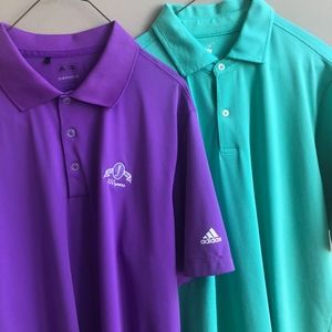 LOT OF 2 Golf Polos